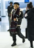Rita Ora touches down at JFK airport with her sister Elena, New York