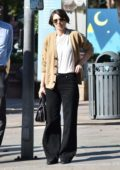 Rooney Mara goes shopping ahead of the holidays in Santa Monica, California