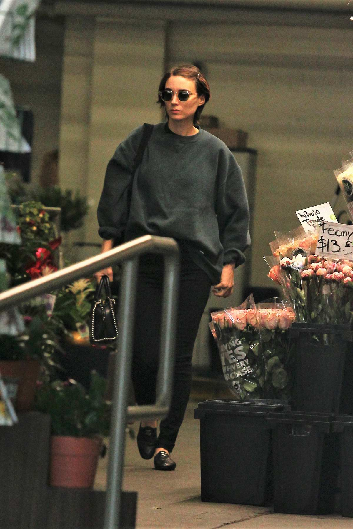 Rooney Mara leaving a grocery store in Beverly Hills, Los Angeles
