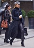 Rosie Huntington-Whiteley shops at PAIGE on Mercer Street in New York City