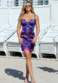 Samantha Hoopes at Sports Illustrated Swimsuit Island at the W Hotel in Miami, Florida