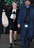 Saoirse Ronan makes a visit at Good Morning America in New York