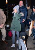 Scarlett Johansson attends the SNL after-party at Buddakan restaurant in Manhattan, New York City