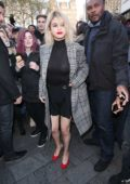 Selena Gomez spotted while leaving Capital Radio in London