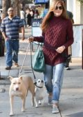 Selma Blair spotted running errands with her dogs in Studio City, Los Angeles