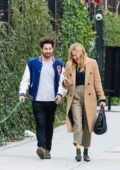 Sienna Miller and Jake Hoffman out on a stroll in New York City
