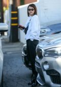 Sofia Richie spends another day at Meche Salon ahead of the holidays, Beverly Hills, Los Angeles