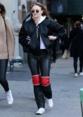 Sophie Turner walks to lunch with a female friend in SoHo, New York City
