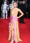 Tallia Storm attends the European Premiere of 'Star Wars: The Last Jedi' at Royal Albert Hall in London