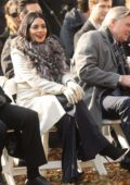 Vanessa Hudgens spotted on location filming the movie 'Second Act' in New York