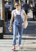 Zoey Deutch grabs a juice to go while out in Los Angeles