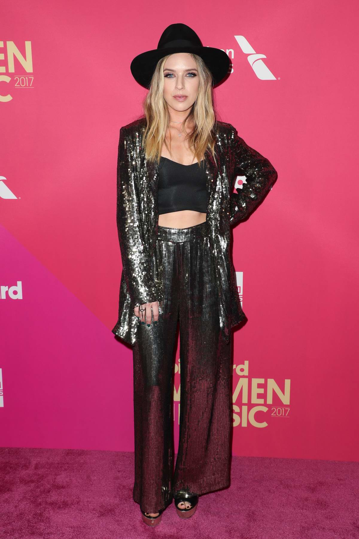 ZZ Ward at the 2017 Billboard Women in Music in Los Angeles