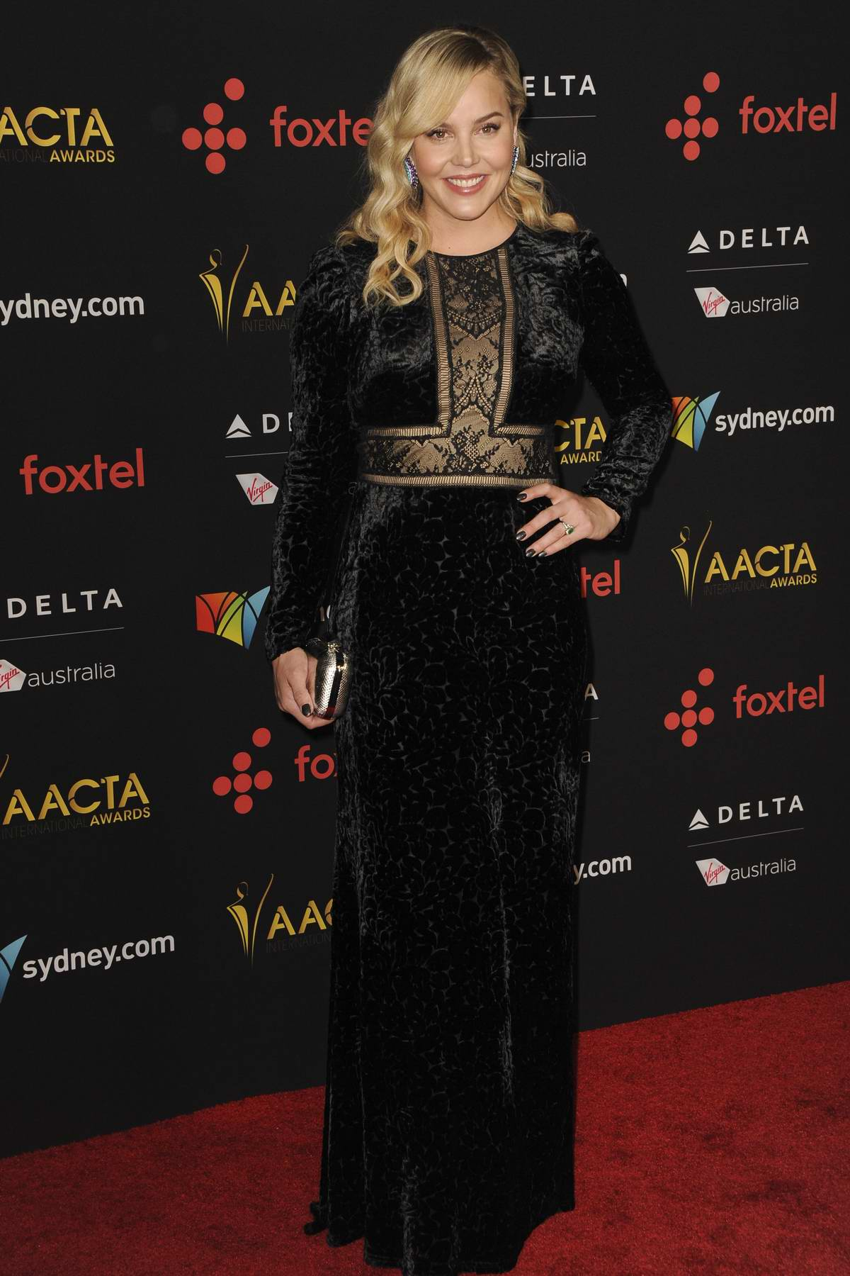 Abbie Cornish attends the 7th AACTA International Awards in Los Angeles