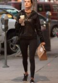 Alessandra Ambrosio drops by the Urth Cafe in Beverly Hills, Los Angeles