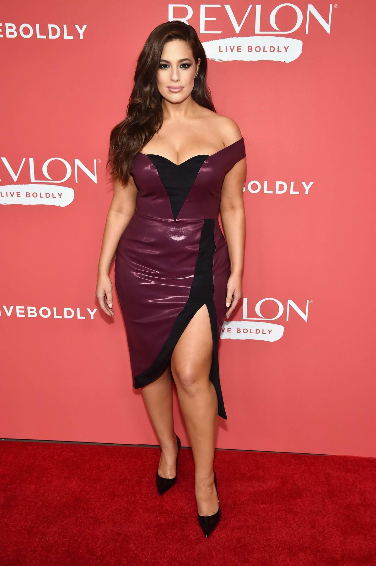 Ashley Graham at Revlon's 'Live Boldly' Campaign Launch in New York