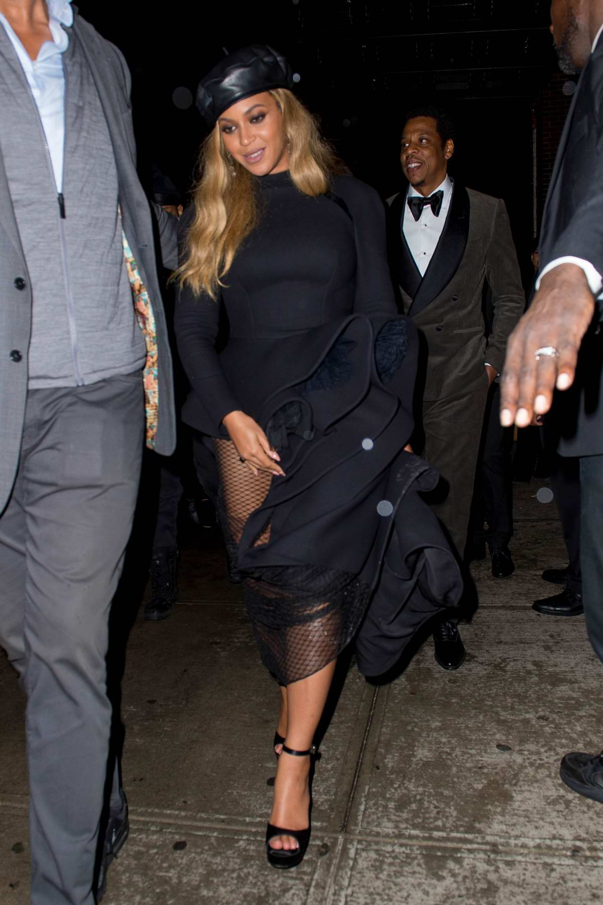 Beyonce and Jay-Z spotted out at Catch Restaurant in New York City
