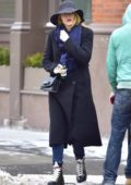 Blake Lively bundles up on a chilly day in New York City