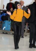 Camila Cabello touch down at Narita International Airport in Tokyo, Japan