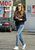 Cat Deeley spotted out for the first time after confirming her second pregnancy, Los Angeles