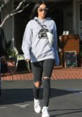 Chantel Jeffries grabs lunch with friends in West Hollywood, Los Angeles