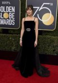 Dakota Johnson attends the 75th Annual Golden Globe Awards in Beverly Hills, Los Angeles