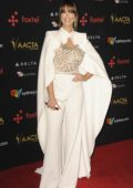 Delta Goodrem attends the 7th AACTA International Awards in Los Angeles