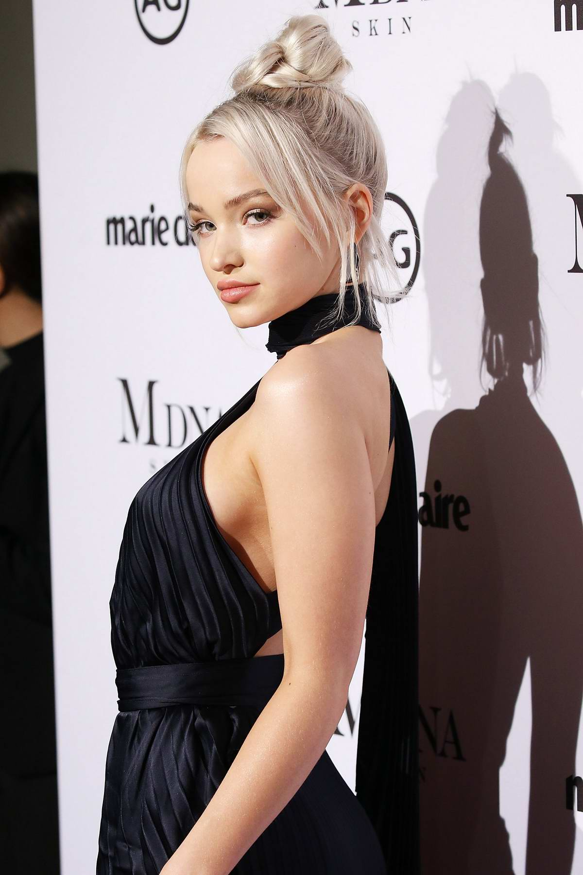 Dove Cameron at The Marie Claire Image Makers Awards at Delilah in West Hollywood, Los Angeles