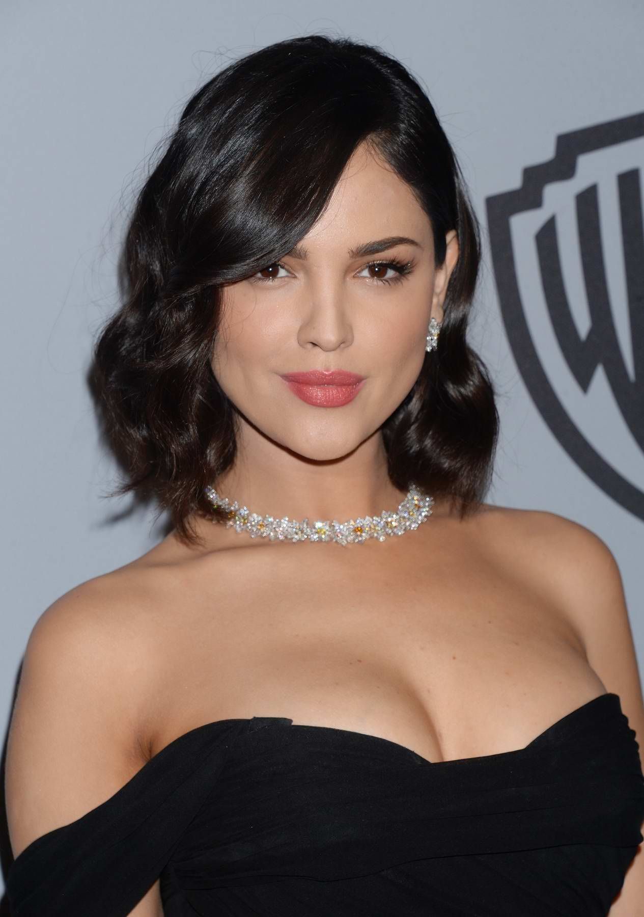 Eiza Gonzalez at Instyle & Warner Bros Golden Globes after party in Los Angeles