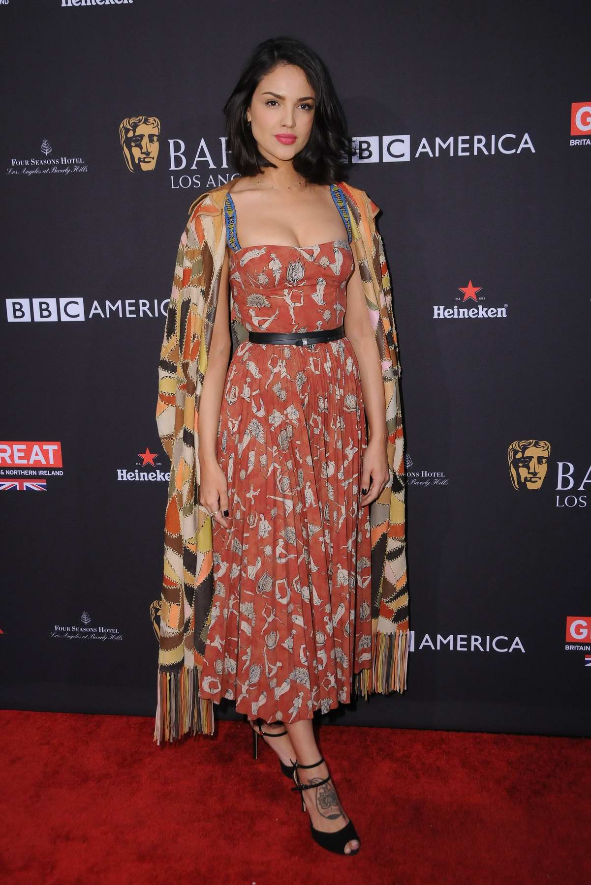 Eiza Gonzalez attends The BAFTA 2018 Los Angeles tea party at the Four Seasons Hotel in Beverly Hills, Los Angeles
