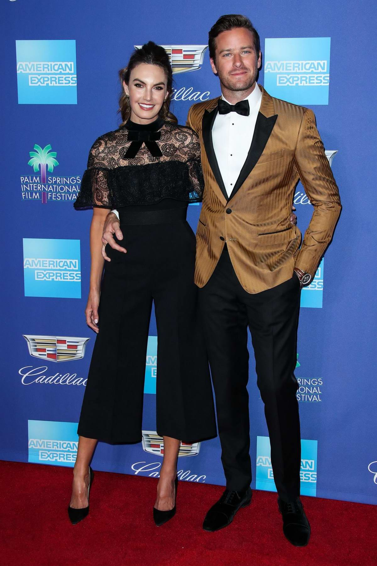 Elizabeth Chambers attends the 29th Palm Springs International Film Festival Awards Gala in Palm Springs, California