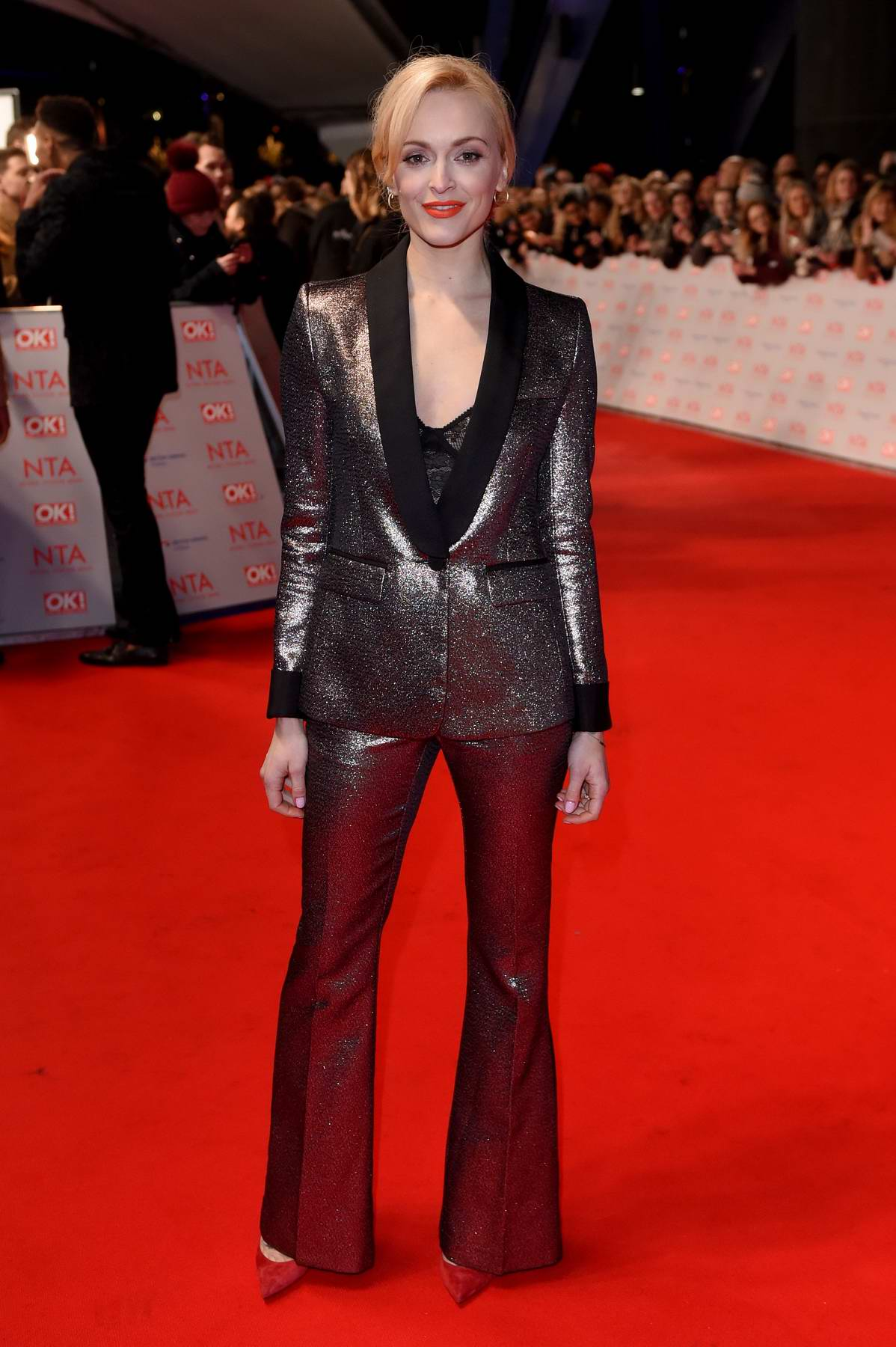 Fearne Cotton attends National Television Awards at The O2 Arena in London