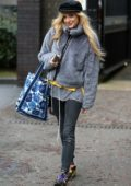 Fearne Cotton outside ITV studios in London