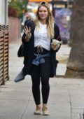 Hilary Duff leaves lunch at Joan's On Third in Studio City, Los Angeles