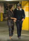 Irina Shayk and Bradley Cooper spotted at a parking lot as they visit UCLA Medical Center in Los Angeles