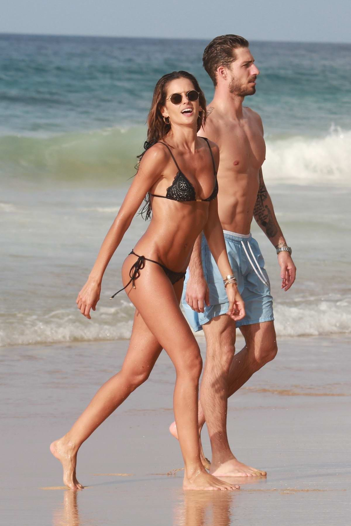 Amy Acker Bikini izabel goulart wears a bikini as she and boyfriend kevin