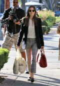 Jessica Biel out shopping with a girlfriend in West Hollywood, Los Angeles
