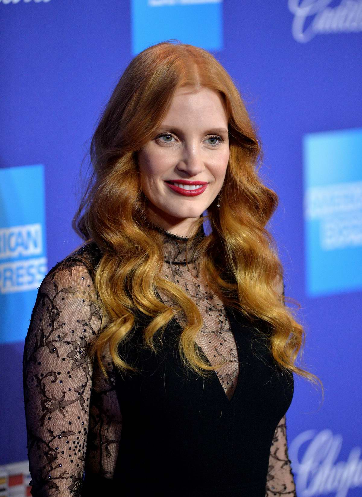Jessica Chastain attends the 29th Palm Springs International Film Festival Awards Gala in Palm Springs, California