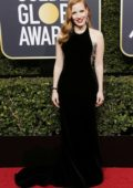 Jessica Chastain attends the 75th Annual Golden Globe Awards in Beverly Hills, Los Angeles