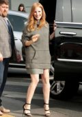 Jessica Chastain outside The House on Sunset to attend The Gold for Golden Luncheon in West Hollywood, Los Angeles
