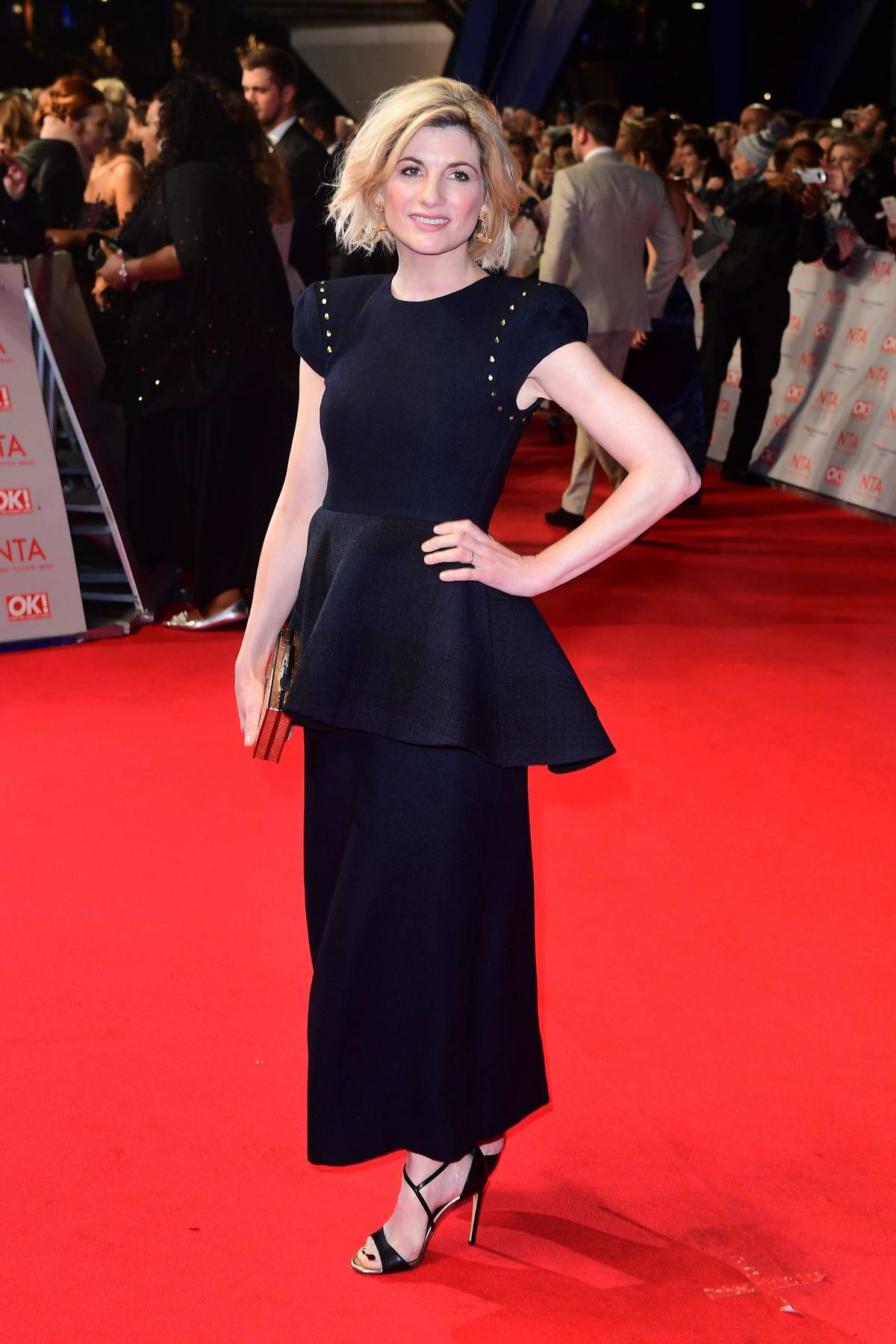 Jodie Whittaker attends National Television Awards at The O2 Arena in London