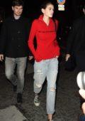 Kaia Gerber attends the Valentino Fashion Show during Paris Fashion Week in Paris, France