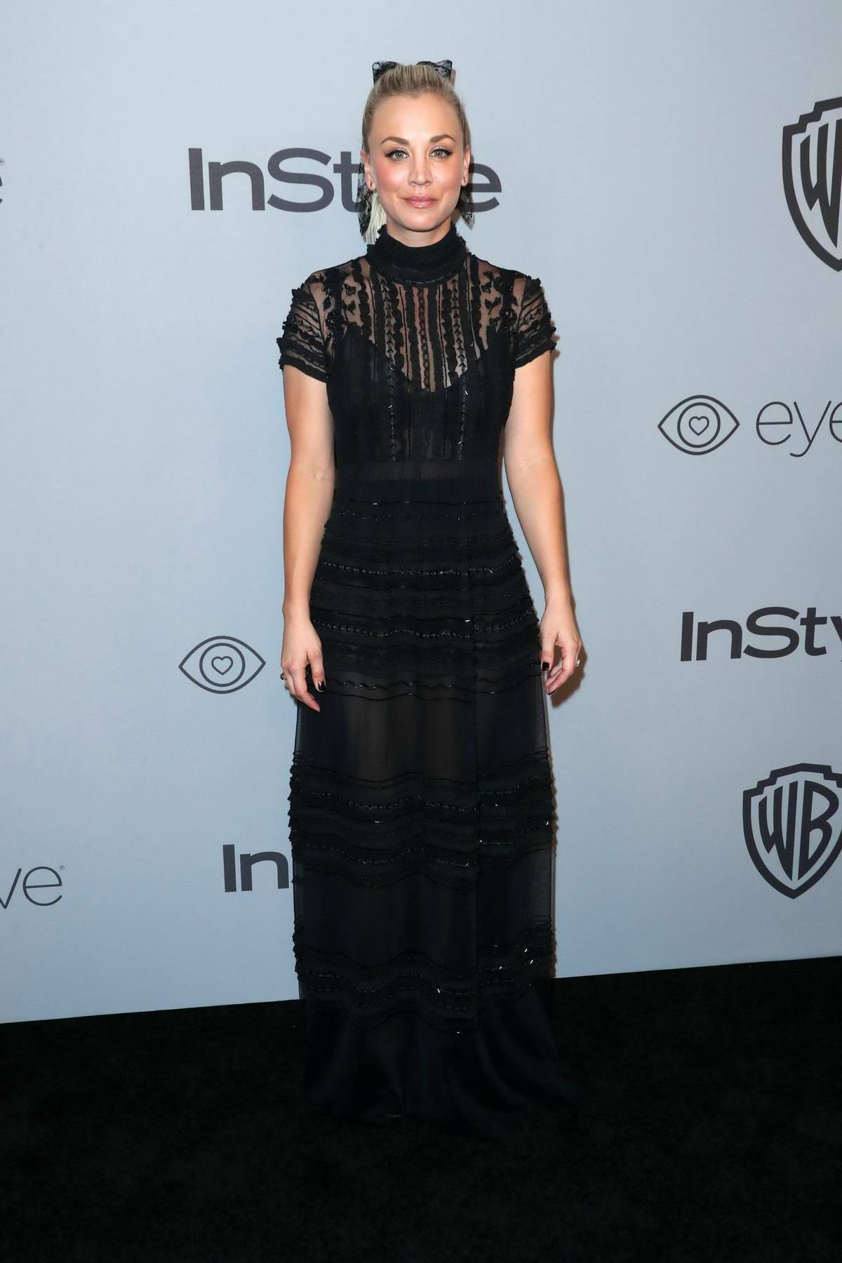 Kaley Cuoco at InStyle & Warner Bros Golden Globes after party in Los Angeles
