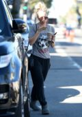 Kaley Cuoco grabs a juice while out in Los Angeles