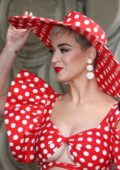 Katy Perry at Minnie Mouse Hollywood Walk of Fame Ceremony in Hollywood, Los Angeles