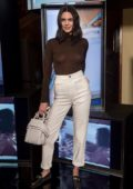 Kendall Jenner at Tod's Spring 2018 Campaign Launch in Milan, Italy
