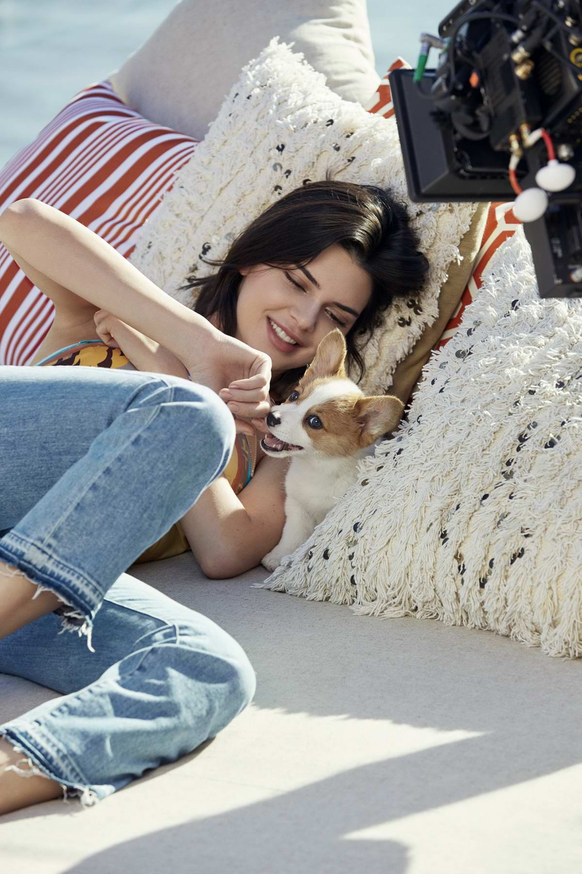 Kendall Jenner features in Tod's Spring-Summer 2018 Campaign