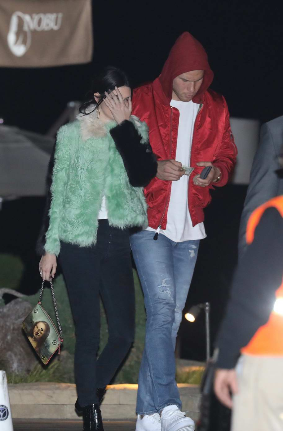 Kendall Jenner has a romantic dinner with Blake Griffin at Nobu in Malibu, California