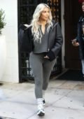 Kim Kardashian leaving Epione in Beverly Hills, Los Angeles