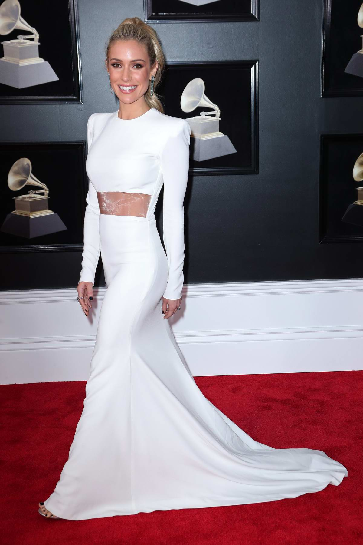 Kristin Cavallari attends the 60th Annual Grammy Awards at Madison Square Garden in New York