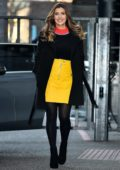 Kym Marsh arrives at the ITV Studios to make an appearance on 'The Lorraine Show' in London